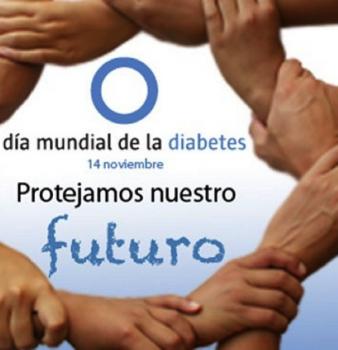 """""""DIA MUNDIAL DE LA DIABETES""""  14 de noviembre"""